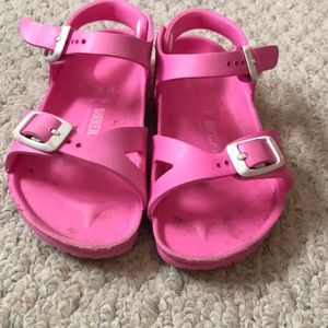 Girls Birkenstock sandals size 10